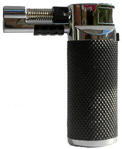 sturm feuerzeug gas brenner flambierer mini bunsenbrenner creme brulee jetflamme. Black Bedroom Furniture Sets. Home Design Ideas