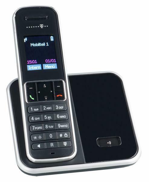 Telekom Sinus 405 Schnurlos Telefon Dect Schnurloses Gerät Schwarz Angebotpreis