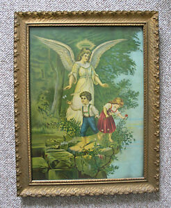 Framed Picture of The Guardian Angel Guelph Ontario image 1