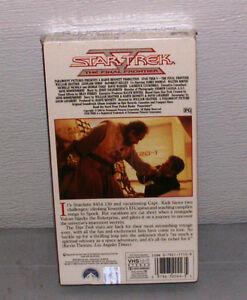 Star Trek V The Final Frontier NEW OLD STOCK FACTORY SEALED VHS Belleville Belleville Area image 2