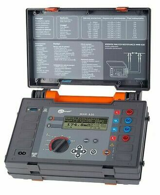 Sonel Mmr-620 Micro-ohmmeter 10a Dlro Low Resistance Ohmmeter