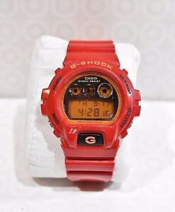 Perfect Condition Men's GShock Digital Watch, Red
