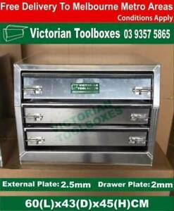 3 drawers Tool Chest Box