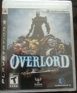 PS Playstation Overlord Game brand NEW