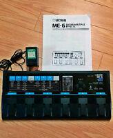1990s BOSS ME-6 GUITAR EFFECTS PEDAL JAPAN-ECHANGE/TRADES