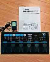 1990s BOSS ME-6 GUITAR EFFECTS PEDAL JAPAN-ECHANGE/TRADES