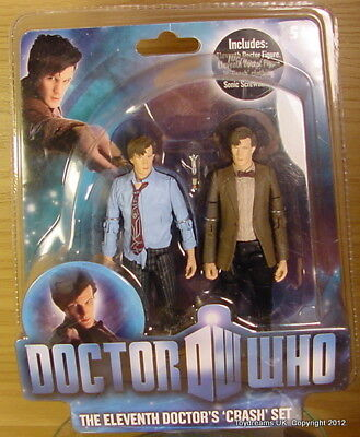 Doctor Dr Who MATT SMITH Crash Set Brown Jacket + Crash outfit original 11th MOC