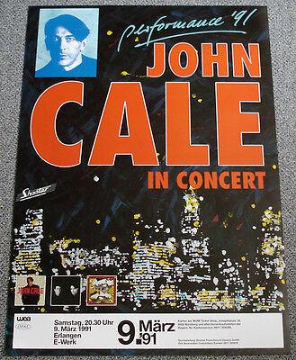 Poster Plakat - John Cale : In Concert - Format: DIN A1