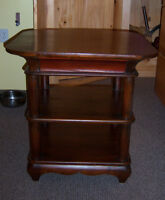 End Table / Coffee Table - Beautiful Solid Wood