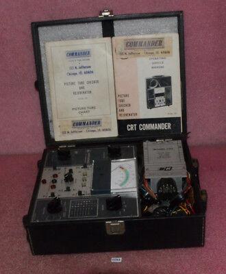 Crt Commander Picture Tube Checker And Rejuvenator Model 857.