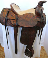 Custom Hand Made J. Franklin Saddle