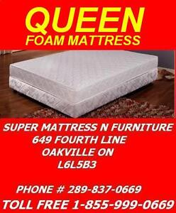 "SUPER COMFY MATTRESS SALE QUEEN ALL 5"" FOAM FOR ONLY $139.99 Oakville / Halton Region Toronto (GTA) image 1"