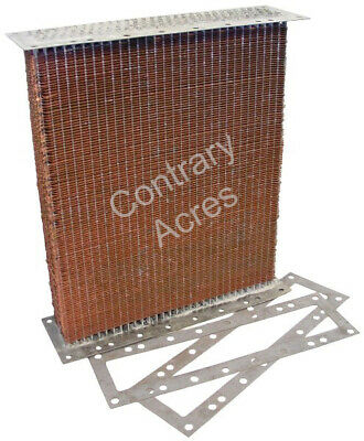 Radiator Core With Gaskets For John Deere A 60 620 630 Tractors