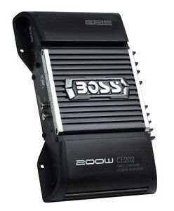 NEW-BOSS-CE202-200W-2-Channel-CHAOS-EPIC-High-Power-Car-Audio-Amplifier-Amp