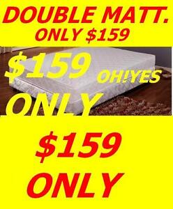 DOUBLE SIZE ORTHO PEDIC QUILTED TOP MATTRESS ONLY $159 Oakville / Halton Region Toronto (GTA) image 1