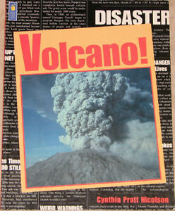 Volcano! Soft Cover Kids Book London Ontario image 1