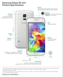 New Galaxy S5 mini Unlocked Cambridge Kitchener Area image 2