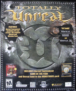 PC Game Software: TOTALLY UNREAL (Complete)