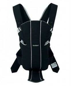 BABYBJORN Baby Carrier Active, Black, WITH LUMBAR SUPPORT