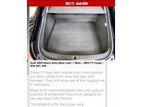 Audi TT (8J) Tailored Boot Liner (Coupe Only)