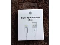 Genuine iPhone charger cable for 5 5s 6 6s 7 Plus and Ipod / iPad Air 2 Lightning Charger