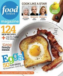Food Network Magazine April 2010: 50 Fun Eggs Ideas/Easter Sweet