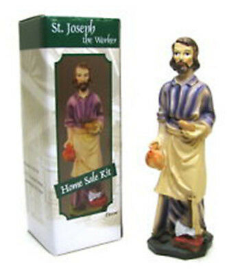 St Joseph Statue Color Home Sale Kit House Sell Complete 5 inch & Instructions