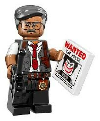 Lego Minifigures Batman Commissioner Gordon