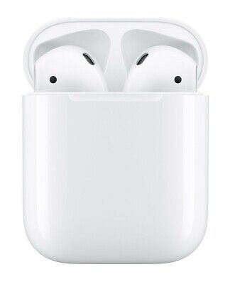 Apple AirPods 2nd Gen Wireless Bluetooth Earphones with Charging Case MV7N2AM/A
