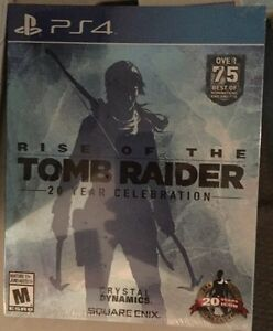 Rise of The Tomb Raider PS4 Sealed