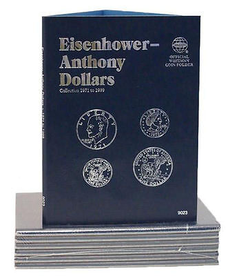 New Whitman Album ANTHONY&EISENHOWER DOLLARS 1971-1999 IKE&SBA Coin Folder#9023