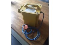 Coyles 240/110v transformer with 2 output sockets