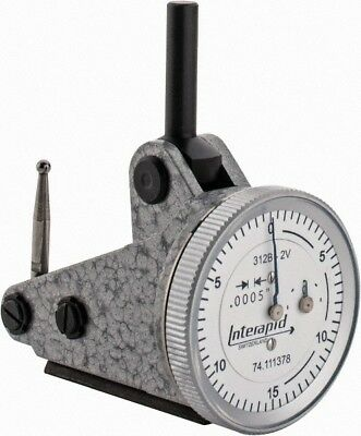Interapid 312b-2v Dial Test Indicator .060 Range 0-15-0 Reading 12-012-1