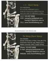 Clarinet music esson with Kevin Wang~The best chiose ~!