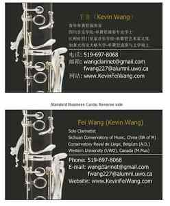 Clarinet lesson with Kevin Wang~The best chiose ~! London Ontario image 1