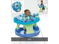 Mamas are papas sit and step activity centre and walker
