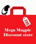 Mega Magpie discount outlet