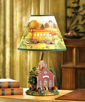 "SUSAN WINGET SCHOOLHOUSE TABLE LAMP ""NEW"""