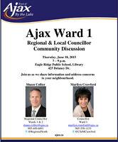 Ajax Ward 1 Community Meeting