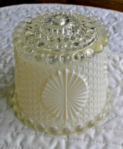 Decorative Heavy Beaded Glass Light Shade