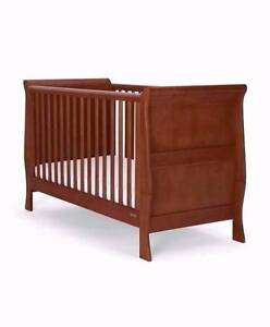 Baby cot new born to toddler 2 height bed Calamvale Brisbane South West Preview