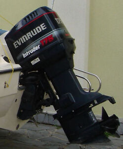 1997 evinrude 175 horse outboard power tilt and trim