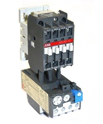Abb A9-30-10 Contactor With Ta25du Overload Relay