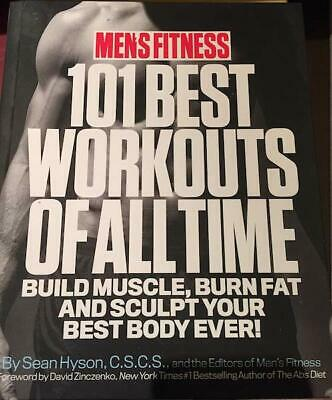 101 Best Workouts of All Time Hardcover by Sean