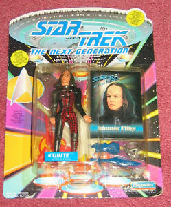 K'Ehleyr figure NEW in package - Star Trek - Next Generation