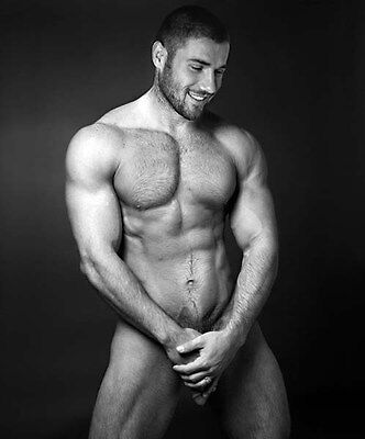 BEN COHEN UNSIGNED PHOTO #7 - NAKED!!!!