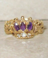 Franklin Mint Crown Style Ring