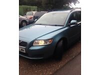 2010 VOLVO V50 S D DRIVE BLUE 1 OWNER FROM NEW FULL SERVICE HISTORY