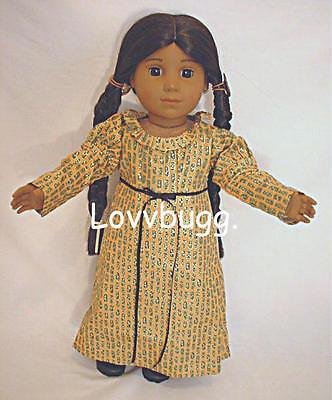 "Lovvbugg Holiday Christmas Dress for 18""American Girl Josefina Doll Clothes"
