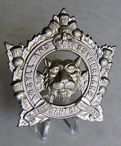 Military collectable cap badge